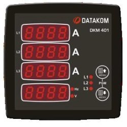 DKM-401 Digital Multimeter Datakom Network Analysers