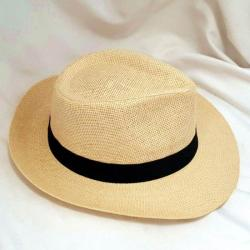 Panama Hat Holiday - Brown