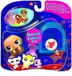 Hasbro Littlest Pet Shop Sassiest Pets Walrus With Igloo - Special Edition Pet 977