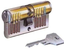 Cisa Euro Double Cylinder 33 33 Np