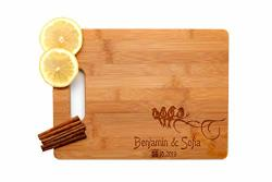 Krezy Case Wooden Engraved Cutting Board Home D Cor Cute Birds Wedding Gifts For The Couple