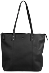 Polo Coachella Nappa Leather Shopper Bag in Black