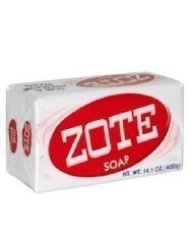 Zote Laundry Soap Bar Pink 14.1 Oz By Zote