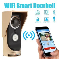 Alextreme Wireless Wifi Smart Remote Video Door Camera Phone Doorbell Intercom Ir Security Bell