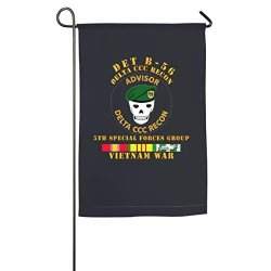 Fgbflag Det B 56 Delta Ccc Recon Garden Flag- 18 X 12 Inch Outdoor Holiday Flags