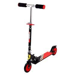 Ferrari - Kids 2 Wheel Scooter Black
