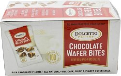 Dolcetto Chocolate-filled Wafer Bites 0.7 Ounce Pack Of 24