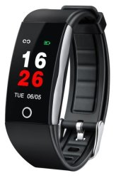 Nordic Z6 Fitness Tracker + Watch Black