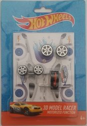 Hot Wheels 3D Model Friction Race Cars