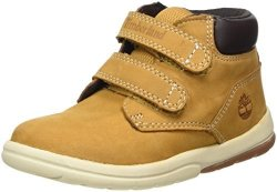 Timberland Baby Toddle Tracks Hook And Loop Ankle Boot Wheat Nubuck 10 M Us Toddler