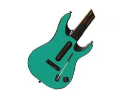 Guitar Hero 5 GH5 World Tour For Xbox 360 Or PS3 Skin - New - Teal Turquoise System Skins Faceplate Decal Mod