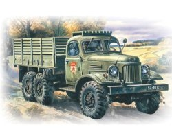 MMD Holdings, LLC Icm Models ZIL-157 Army Truck Building Kit