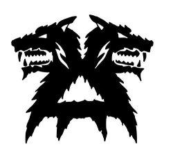 Warhammer 40K Wolf Head Khorne Symbol Warhammer Khorne Vinyl Decal Khorne Sticker Warhammer 40K Decal