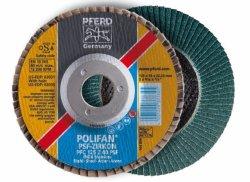 PFERD Polifan Wheels Pfc 180-22 Z40 Psf -zircon