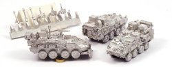 GHQ Modern Micro Armour - Canada 1:285 Lav III Elav