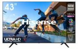 Hisense 43 Inch True 4K Uhd LED Matrix Frameless Vidaa Os Based Smart Tv- Resolution 3840 × 2160 Image Refresh Frequency 60HZ Contrast Ratio
