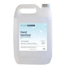 25L Gel Hand Sanitizer 75% Alcohol Clear Waterless & Quick Dry No-rinse