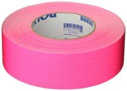 Berry Plastics Corporation Polyken 510 Rubber Premium Grade Gaffer's Tape 45M Length X 48MM Width Neon Pink