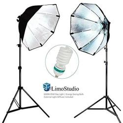 Limostudio 2 Sets Of Photography Video Studio Continuous Soft Box