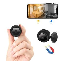 MINI Wifi Hidden Camerawireless Spy Camera HD 1080P Security Camera For Home Nanny Cam With Night Vision Motion Detection Built-
