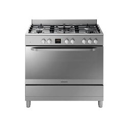 Samsung 5 Gas Burner Cooker - Stainless Steel