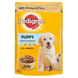 Pedigree - Puppy Food With Jelly 100G Chicken In Jelly