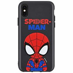 Black Cutie Jelly Case With Avengers Character For Samsung Galaxy S20 Ultra Spider Man