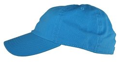 464e32c94 Ted And Jack - Oceanside Solid Color Adjustable Baseball Cap In Bright Blue