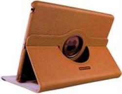 Promate Spino-air Multi-task Cover With Rotatable Shell Stand For Ipad Air- Orange
