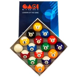 EASI8 Coloured Pool Ball Set