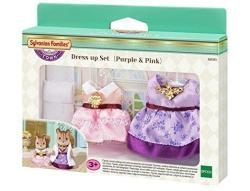 Sylvanian Familes Dress Up Set Purple & Pink