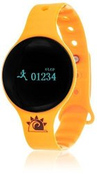 Zunammy Women&apos S &apos Activity Tracker With Call And Message Reminders&apos Digital LED And Rubber Smart Watc