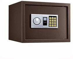 USA Zcf Security Safes Home Electronic Safes Deluxe Digital Security Safe Boxwith Double Alarm Home Office Hotel Business Jewelry Cash Use Storage Colo