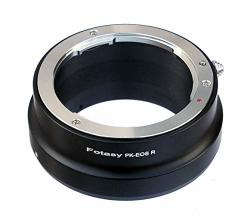Fotasy Premier Copper Lens Adapter Compatible With Pentax K pk Lens & Canon Eos R Full Frame Mirrorless Camera Eos R eos Rp