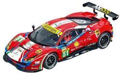 Carrera Usa 20030848 Digital 132 Ferrari 488 GT3 Af Corse NO.51 Slot Car Racing Vehicle Red