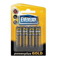 EVEREADY Aa 8 Pack Power Plus Gold Aa 8 Pack
