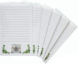 O'meara Irish Coat Of Arms Notepads - Set Of 6
