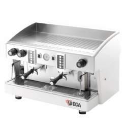 Wega Atlas Commercial Espresso Machine - 2 Group Evd Automatic White