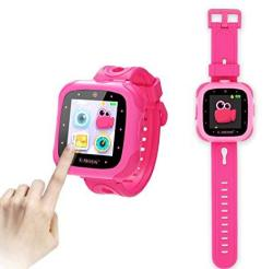 E-MODS GAMING Kids Smartwatch 1.5 Inch Touchscreen Multi Language Digital Smart Watch With Camera Built-in Puzzle Game Toy Watch