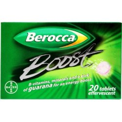 Berocca Boost Effervescent - 20 Tablets
