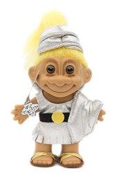Russ Berrie My Lucky Troll Roman Soldier Troll Doll - Blond Hair
