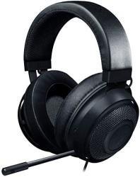Kraken Razer Gaming Headset 2019 - Matte Black : Lightweight Aluminum Frame - Retractable Noise Cancelling MIC - For PC Xbox PS4 Nintendo Switch Renewed