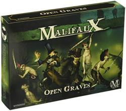 Wyrd Miniatures Malifaux Resurrectionists Open Graves Crew Model Kit