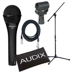 Audix OM7 Dynamic Vocal MIC With Clip Pouch 20' Xlr Cable And Boom MIC Stand