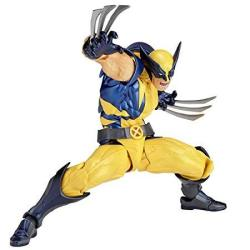 Figure Complex Amazing Yamaguchi Wolverine Approximately 155 Mm Abs & Pvc Painted Action Revoltech