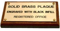 Brass Plaque 200X300MM