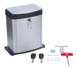 Zooltro Sliding Gate Motor With Remote & Backup Battery - 300KG Capacity