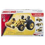 Meccano Junior Truckin' Tractor 4 Model Building Set 87 Pieces For Ages 5+ Stem Construction Education Toy