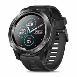 Zeblaze Vibe 5 Smart Watch IP67 Waterproof Smartwatch Fitness Monitor Sleep Monitor Steps Counter Call Remind Pedometer Activity Tracker Smart Watch For Ios Android Phone Black
