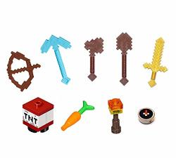 Lego Minecraft Minifigure Accessory And Weapon Pack For Steve Alex